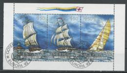 Europa CEPT 1992 Suède - Schweden - Sweden Y&T N°BF22g - Michel N°HB196C (o) - échancrure à Gauche - 1992