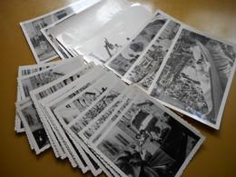 REMIREMONT, VOSGES, BEAU LOT DE PHOTOGRAPHIES ANCIENNES, ANIMATIONS MANIFESTATION MISS 1962, TOUS LES SCANS - Remiremont