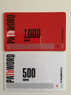 KAZAKHSTAN.. LOT OF 2  PHONECARDS.. PATHWORD..CDMA..1000 AND 500  UNITS - Telecom Operators