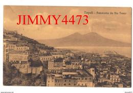 CARTOLINA - NAPOLI En 1914 - Panorama Da Via Tasso ( Naples Campania Italie ) N° 40293 C. C. N. - Napoli (Naples)