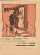 Österr. Postbüchel 1971 - Prosit Neujahr - Other