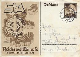 All )   SA Reichswett T'ämpfe Berlin 15 - 17 Juli 1938 - Oorlog 1939-45