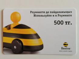 KAZAKHSTAN..   PHONECARD.. K-MOBILE..BEELINE..500 - Telecom Operators