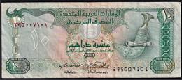 EMIRATI ARABI UNITI 1995 10 DIRHAMS CIRC BUONA - United Arab Emirates