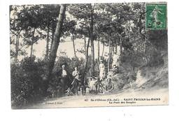 DEP. 17 ILE D'OLERON N°467 SAINT TROJAN LES BAINS LE PONT DES SOUPIRS - Ile D'Oléron
