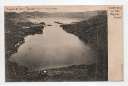 - CPA ACORES (Portugal) - Lembranca De Sao Miguel 1905 - Lagoa De Sete - Citades - - Açores