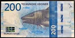 NORVEGIA 2016  200 CORONE +++SPL - Norvegia