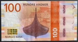 NORVEGIA 2016  100 CORONE QFDS - Noruega