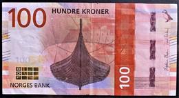 NORVEGIA 2016  100 CORONE +++SPL - Noruega