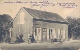 51 - BAZANCOURT / CARTE POSTALE ALLEMANDE - BUREAU DE POSTE ALLEMAND - Bazancourt