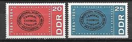ALLEMAGNE  /  DDR    -   1964 .  Y&T N° 757 / 758 ** .  Internationale Socialiste - Ongebruikt