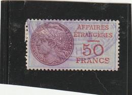 T.F.Affaires Etrangères N°5 - Steuermarken