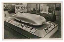 CPSM 75 PARIS EXPOSITION INTERNATIONALE 1937 VOITURE DE COURSE MERCEDES - Exhibitions