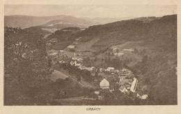 CARTE POSTALE ORIGINALE ANCIENNE : URBACH VUE AERIENNE DU VILLAGE HAUT RHIN (68) - Autres Communes