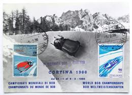 CORTINA 1966 - Campionati Mondiali Di Bob - Winter Sports