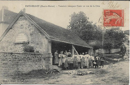 FAYS Ou FAYL BILLOT Vanniers Trempant L' Osier Et Rue De La Côte - Fayl-Billot