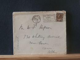 88453    LETTRE  CANADA   1918 TO USA - Cartas