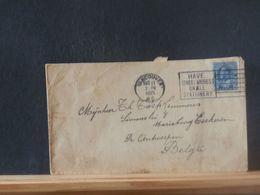 88455    LETTRE  CANADA   1925 TO BELG. - Cartas