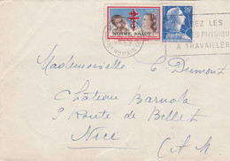 """Erinnophilie - 1958/59 - Vignette B.C.G. """"Notre Salut"""" Contre La Tuberculose - Documenti Storici"""