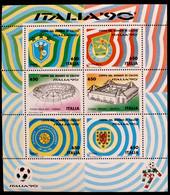 RPP008 - 1990 REPUBBLICA - FOGLIETTO COPPA DEL MONDO ITALIA 90 LIRE 650 - MNH - Hojas Bloque