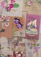 Lot 2614 De 10 CPA Celluloïd Déstockage Pour Revendeurs Ou Collectionneurs - 5 - 99 Postcards