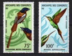 Comores P.A. N° 20/21 XX  Oiseaux : La Paire Sans Charnière, TB - Unused Stamps