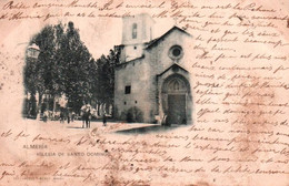 CPA - ALMERIA - Iglesia De Santo Domingo - Edition Hauser Y Menet (tâches) - Almería