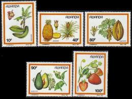 1305/1309** - Fruits Du Rwanda / Vruchten Van Rwanda / Rwanda Früchte / Rwanda Fruits - 1980-89: Neufs