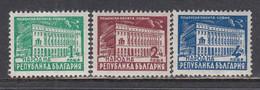Bulgaria 1947/48 - Serie Courante: Architekture, YT 533/35, Neufs** - Nuevos