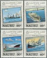 Nauru 1984, Lloyd's List, MNH Stamps Set - Nauru