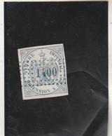 Fiscaux - Fiscal - Timbre DIMENSION 50 C Bleu Aigle Couronné - Revenue Stamps