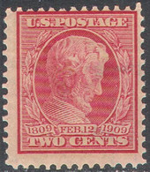 M4014 ✅ Defins Presidents Lincoln Terrorism Memoriam Police 1909 USA 1v Set MNH ** 11ME - Unused Stamps