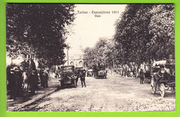 TORINO : Viale. Esposizione 1911. TBE . 2 Scans. Edition Campassi E Diena - Exhibitions