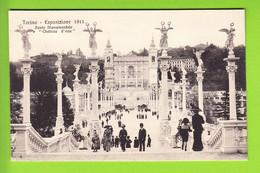 TORINO : Ponte Monumentale, Chateau D'Eau . Esposizione 1911. TBE . 2 Scans. Edition Campassi E Diena - Exhibitions