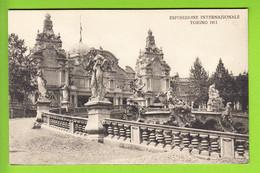TORINO : Palazzo Dell'Inghilterra. Esposizione 1911. TBE . 2 Scans. Edition GF - Exhibitions