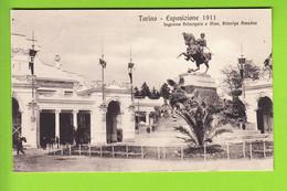TORINO : Ingresso Principale E Monumento Principe Amedeo.  Esposizione 1911. TBE . 2 Scans. Edition Campassi E Diena - Exhibitions
