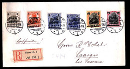 Polen 130/4 Auf Brief - Briefe U. Dokumente