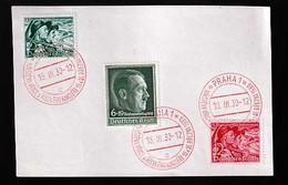 Böhmen Und Mähren Beleg - Occupation 1938-45