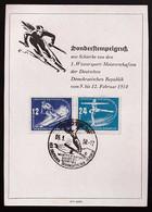 DDR 246/7 Auf Anlasskarte - Storia Postale