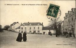 44 - ORVAULT - Route De La Paquelais - Hotel Des Voyageurs - Postes - Carotte Tabac - Orvault