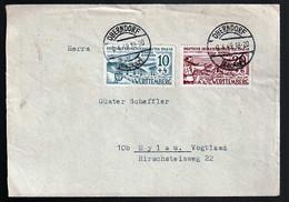 Württemberg 38/9 Auf Brief - Colecciones (sin álbumes)