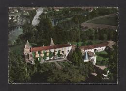 CPSM Gf . 30 . En Avion Au-dessus De . PESSAC-sur-DORDOGNE . Le Château Vidasse . - Pessac