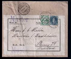 Schweiz Beleg - Briefe U. Dokumente