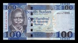 South Sudan Del Sur 100 Pounds 2017 Pick 15c SC UNC - Südsudan