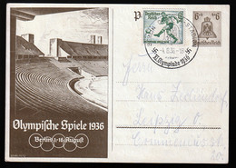 Deutsches Reich Beleg - Stamped Stationery