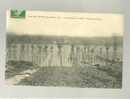 91 Montgeron Crue De L'yerres 20 Janvier 1910 Les Jardins Inondés Plaine De Concy édit. Mulard - Montgeron