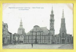 * Sint Truiden - Saint Trond (Limburg) * Exposition Provinciale Limbourg, Expo 1907, Grand'Place, Grote Markt, Old - Sint-Truiden