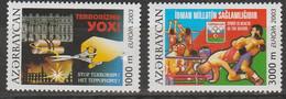Azezbaidjan Europa 2003 N° 460/ 461 ** Art De L'affiche - 2003