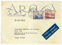 SUISSE Poste Aérienne 1946:  DDL De LSC Avec Bel Affr. - Other Documents