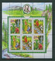 RUSSIE/RUSSIA/RUSSLAND/ROSJA 2004 MI.1144-46**BL 65 ,ZAG.912-14,YVERT 6775-77, Birth Anniversary Of P.P.Bazhov - Unused Stamps